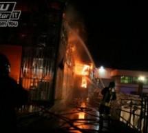 Incendio del capannone Barletta, rinviati a giudizio il titolare della società, l'ex sindaco di San Giorgio del Sannio ed altri quattro.
