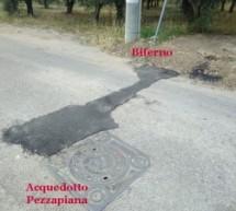 Scarso l'incremento di acqua del Biferno alla parte bassa della città