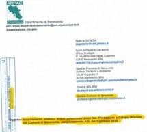 Tetracloroetilene al limite di contaminazione dei pozzi di Benevento, gli esami dell'ARPAC