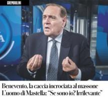 L'assessore Alfredo Martignetti, iscritto alla massoneria, intervistato da Il Fatto Quotidiano