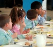 Mensa scolastica: pasta e ceci con insetti