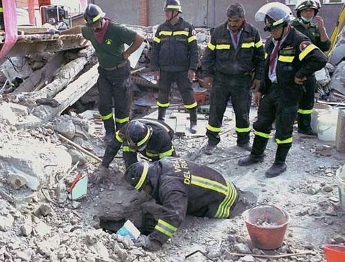 terremoto calcestruzzo