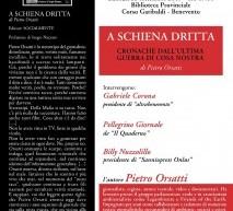 Pietro Orsatti a Benevento per presentare il suo libro sulle ultime vicende di Cosa Nostra, partecipa al dibattito sul giornalismo d'inchiesta.